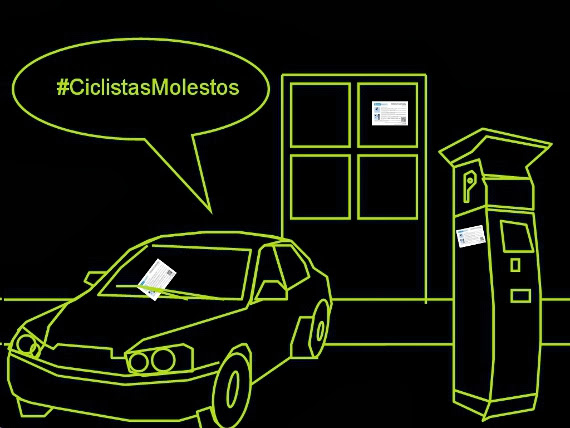 #ciclistasMolestos Objetivo 2. La calle