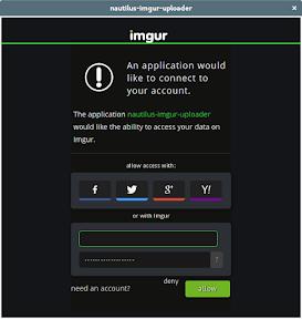 Como subir imágenes a ImgUr . Login.