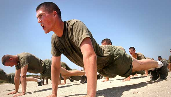 Marines do