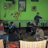 Scenka kabaretowa w przygotowaniu drużyny Kuby