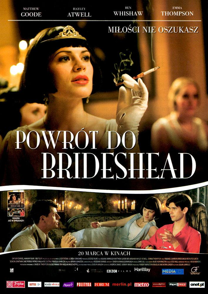 Ulotka filmu 'Powrót Do Brideshead (przód)'