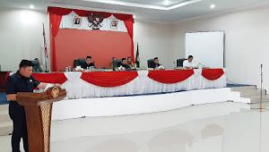 Ini Pandangan Umum Fraksi-Fraksi DPRD terhadap LKPJ Bupati Tahun 2020