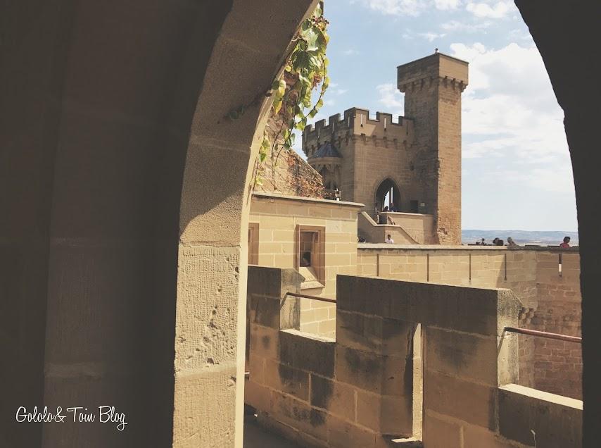 Castillo Palacio de Olite con niños