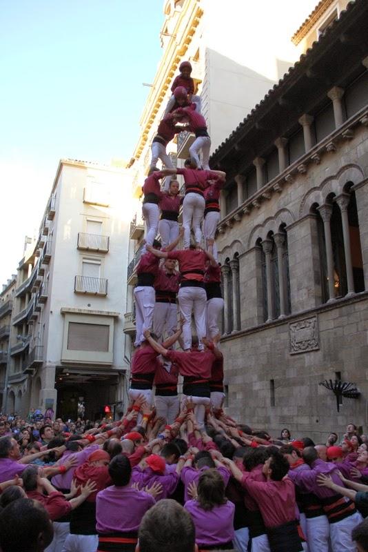 19è Aniversari Castellers de Lleida. Paeria . 5-04-14 - IMG_9526.JPG