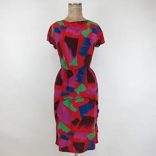 Scott Barry Peplum Dress