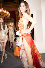Photo: Valentin Yudashkin featuring Maria Mogsolova at Paris Fashion Week Spring 2013!  Valentin Yudashkin is now collaborating with FashionTV's new Fashion - Spring Water!  SEE the gallery: http://www.fashiontv.com/news/fashiontv-launches-fashion-spring-water-at-paris-fashion-week-with-instagram_962.html  READ the article: http://www.fashiontv.com/gallery/valentin-yudashkin-spring-2013-backstage_390778.html  WATCH the show: http://youtu.be/ESQXnlcB-IA