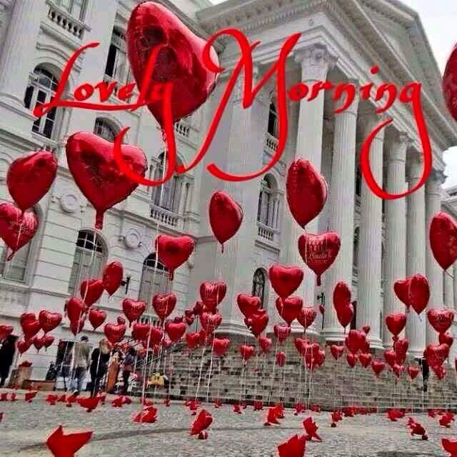 Good Morning With Heart Images