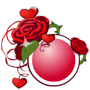 Esfera de rosas