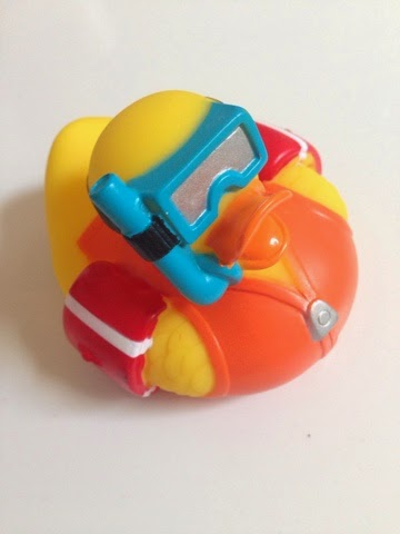 As Part Of Our Role As Munchkin/Lindam Bloggers, We Received The White Hot Super  Safety Bath Ducky.