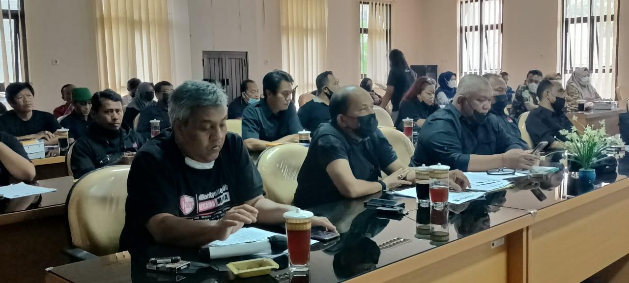 JBM Hearing Ke DPRD Kabupaten Blitar Terkait Anggaran Kemitraan Hilang