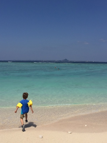 Sesoko Island has the most beautiful clear water