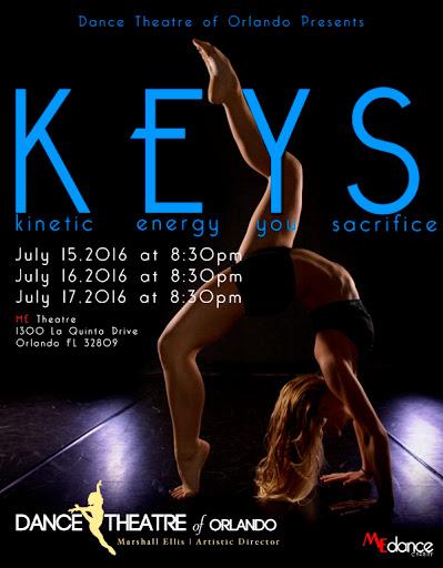 Dance Theatre of Orlando presents K.E.Y.S., a Choreographer Showcase