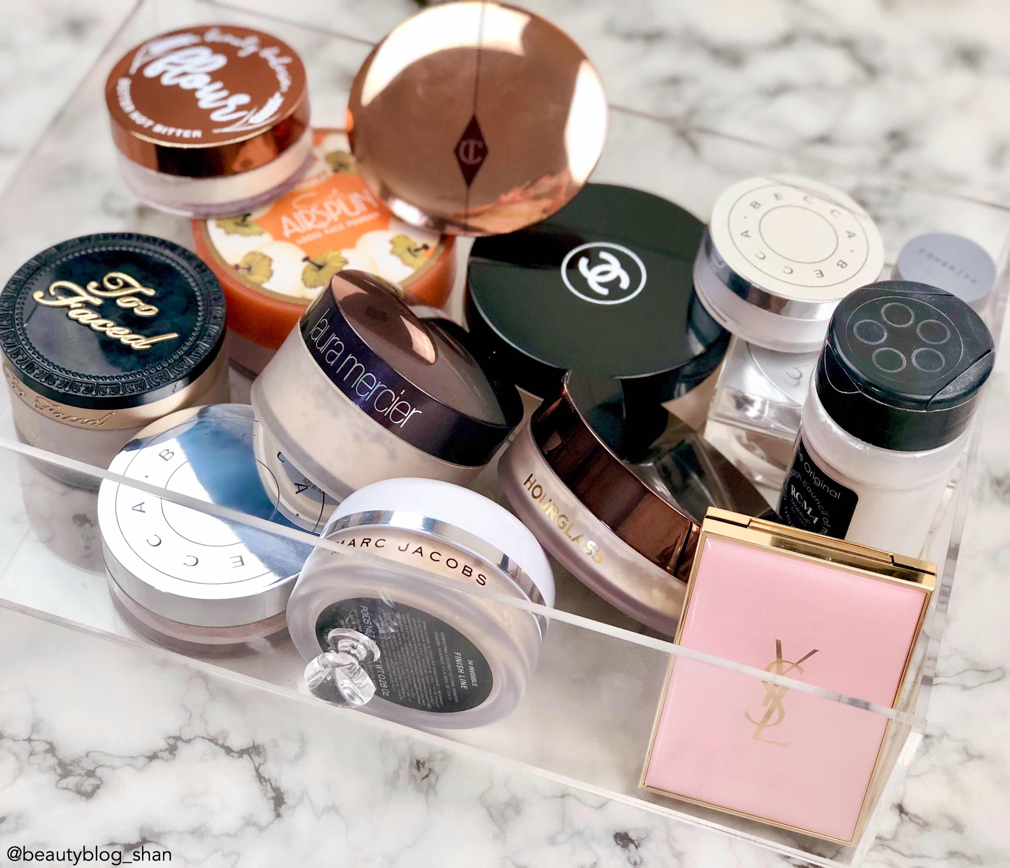 Setting Powder Collection