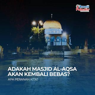 Masjid Al-Aqsa akan kembali bebas