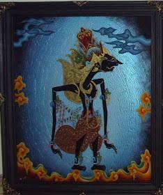 Lukisankaca Foto Lukisan Kaca Wayang Contoh Lukis Kaca