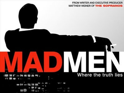 "cartel de la serie de tv ""mad men"""