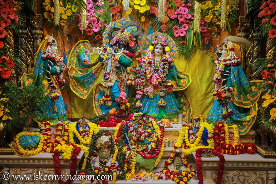 ISKCON Vrindavan Deity Darshan 03 jan 2017 (5)