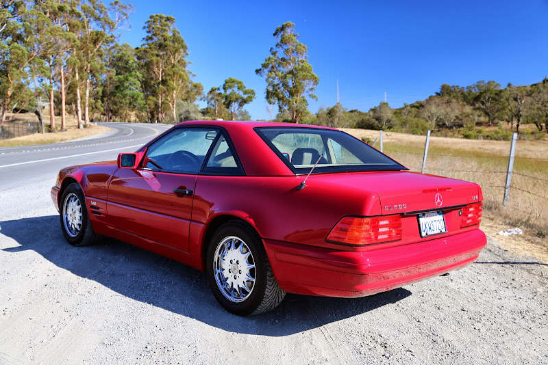 Find Used 1996 Mercedes Benz Sl600 38k Miles Convertible