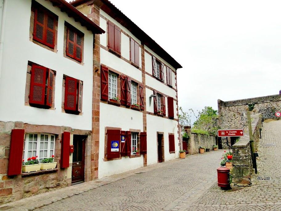 Albergue de peregrinos Saint-Jacques, Saint Jean Pied de Port, Francia, Camino de Santiago