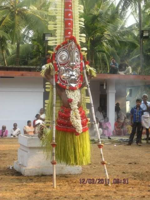 Dazzling Gulikan Theyyam - Story in Malayalam 2