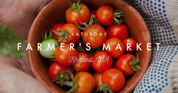 Saturday Farmer's Market - Facebook Event Cover Template