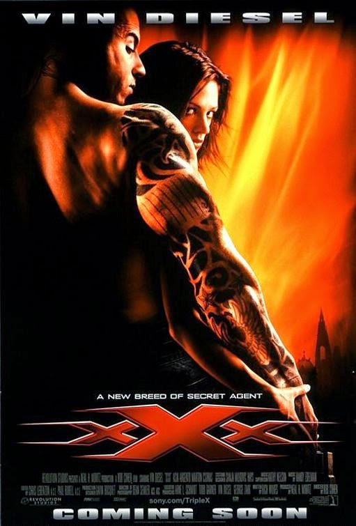 Poster Of xXx (2002) Full Movie Hindi Dubbed Free Download Watch Online At Alldownloads4u.Com