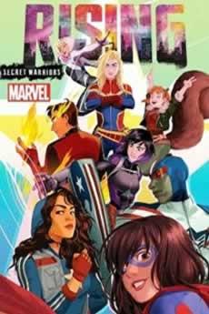 Capa Marvel Rising: Guerreiros Secretos Torrent