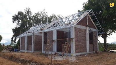 PUPR Percepat Pembangunan RISHA bagi Masyarakat Terdampak Bencana di NTB dan NTT