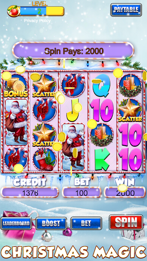 Slot Machine: Free Christmas Slots Casino Game 1.2 screenshots 14