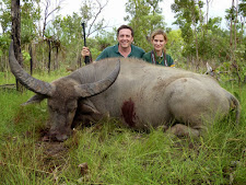Pablo Gonzales with a nice old buffalo bull, taken in February at Carmor Plains with Australia Wide Safaris