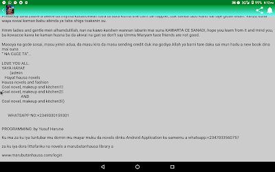 Download kawarta ce sanadi complete hausa novel APK App for