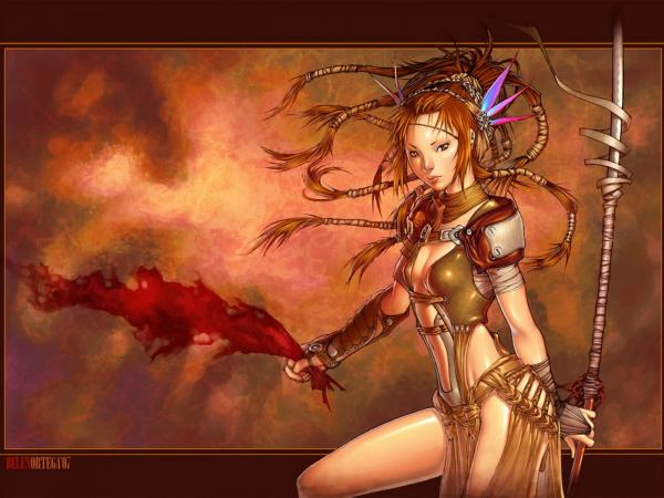 Girl With Flame, Warriors 2