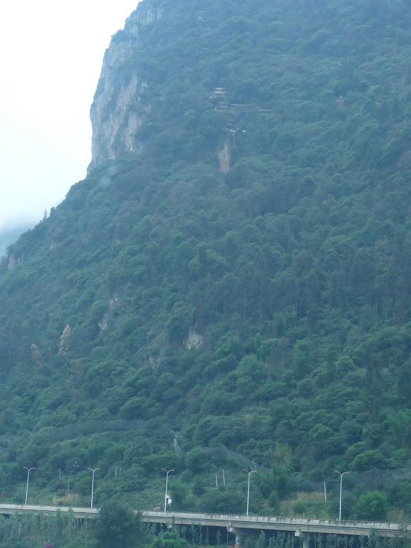 CHINE.YUNNAN.KUNMING , temple Lac Dian Chi - P1270742.JPG