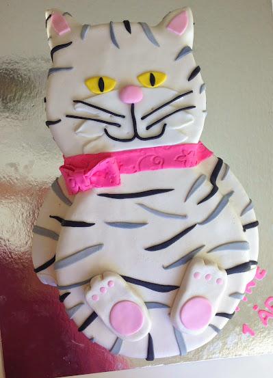 Katt tårta