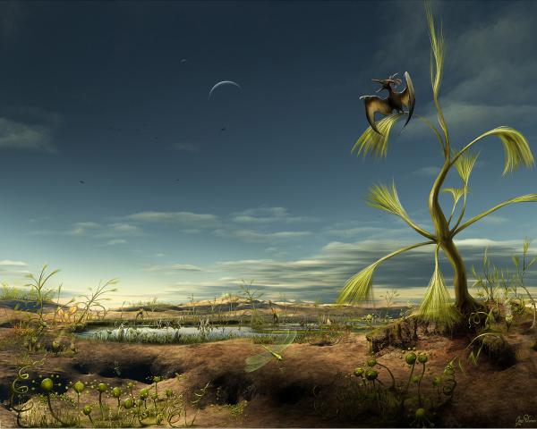 Gray Desert Planet, Magical Landscapes 1
