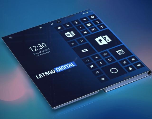 มาดูคอนเซ็ปต์ว่าที่สมาร์ทโฟนพับได้จาก Intel