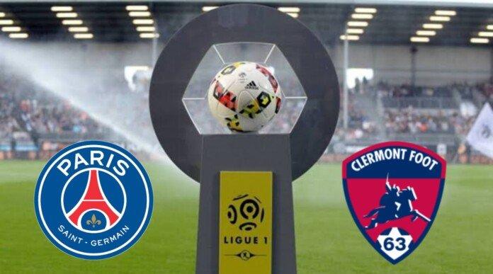 مباراة باريس سان جيرمان وكليرمونت