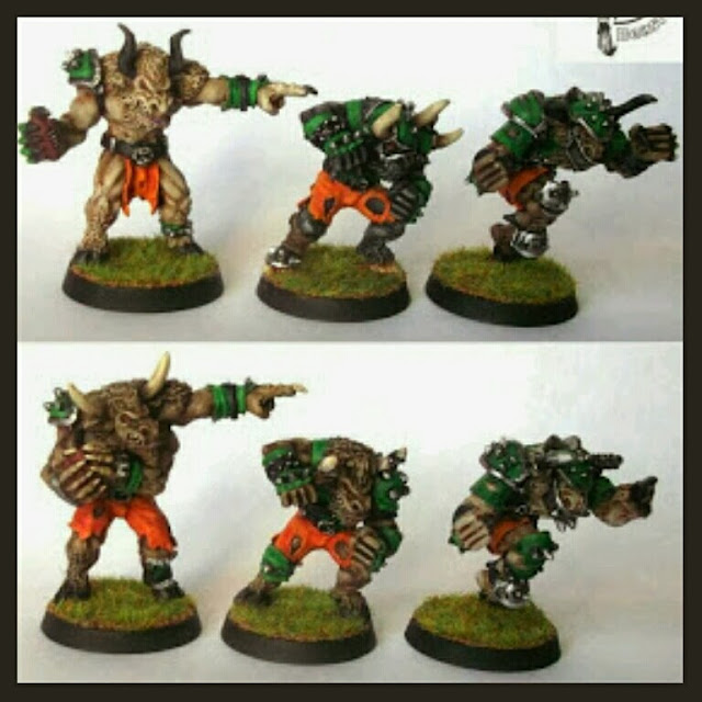 Beast Face Miniatures Caos Blood Bowl
