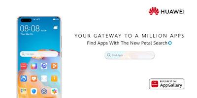 Huawei เผยวิธีการค้นหาแอปพลิเคชั่นใหม่ล่าสุด Petal Search ช่องทางสู่แอปนับล้าน