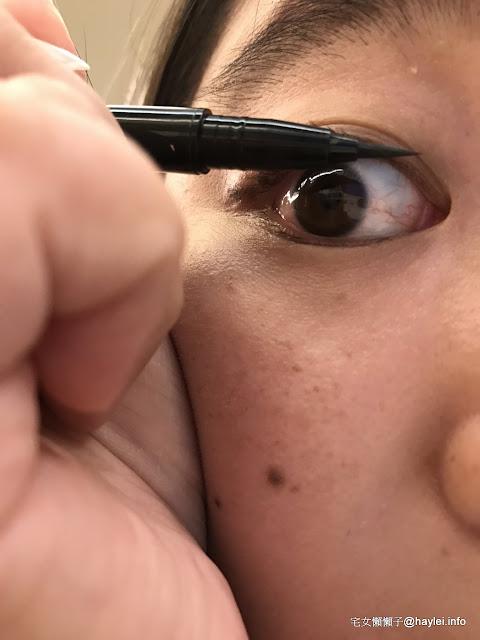 makeup/Kate/凱婷眼妝系列心得 眉彩-3D造型眉彩餅/EX-4/亮棕系、眼線-造型雙效眼線筆/BR-1/深棕x霧棕 塑造自然放大雙眼的深魅棕眼必備棕色系彩妝 彩妝品分享 攝影 民生資訊分享