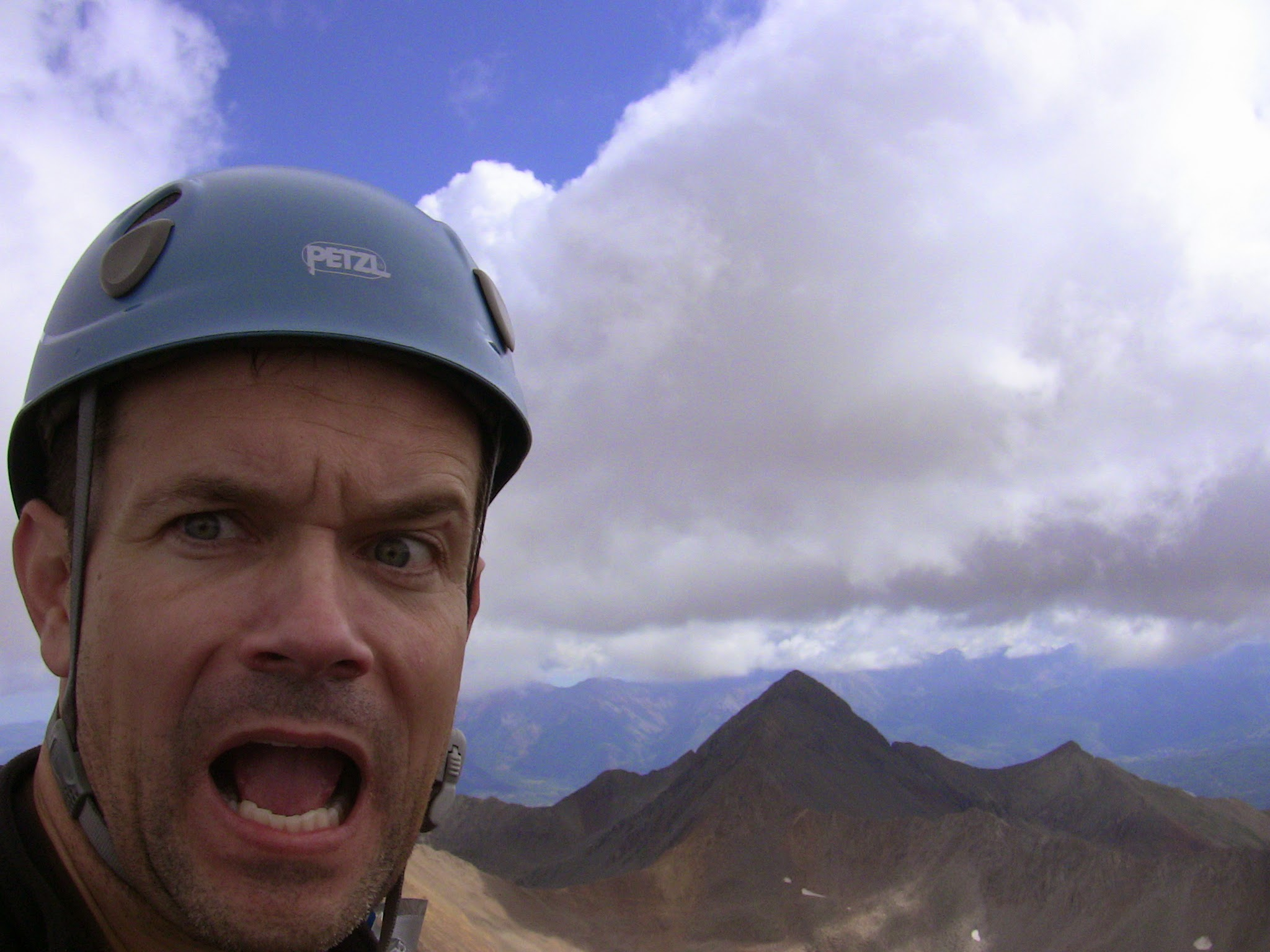 Cheesy Summit Self Photo