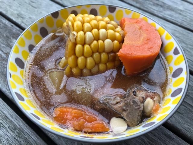 節瓜粟米紅蘿蔔湯-增強免疫力