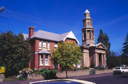 8 St George's Church and (Federation -1896) Rectory