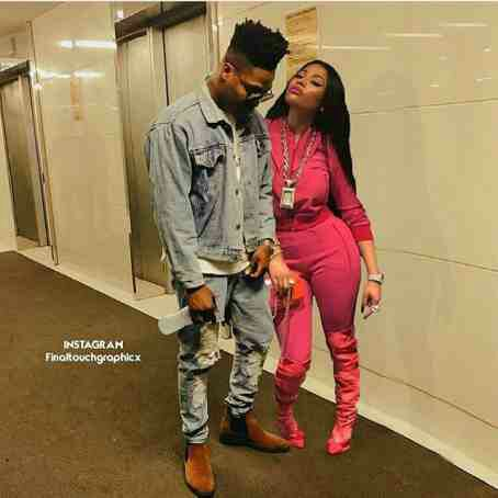 Reekado Banks And Nicki Minaj Spotted together