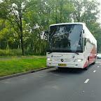 Mercedes tourismo spelersbus van FC Utrecht