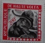 timbre Haute-Volta 011