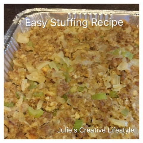 Suffing Recipe at Julie's Creative Lifestyle