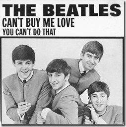 Beatles Can't Buy Me Love 45