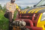 Wakapolres Soppeng Turut Jaga Di Pos Penyekatan Batas Antar Kabupaten