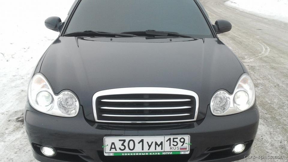 2003 Hyundai Sonata Sedan Specifications Pictures Prices